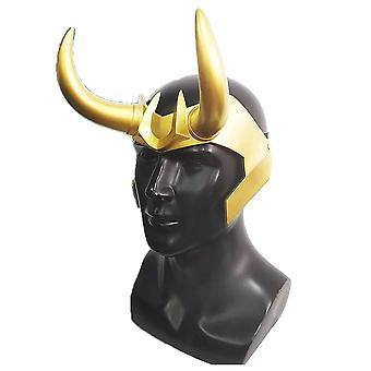 Thor Ragnarok Loki Korona Szarvak maszk sisak Cosplay Party Prop