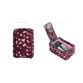 المحمولة للطي السفر حذاء حقيبة كبيرة سعة الأحذية المنظم حقيبة