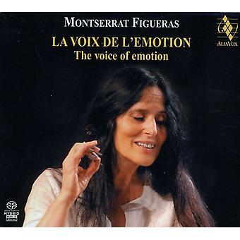 Montserrat Figueras - La Voix De Emotion [SACD] USA importar