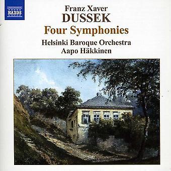 F.X. Dusíkin - Franz Xaver Dusíkin: Neljä sinfoniaa [CD] USA tuonti