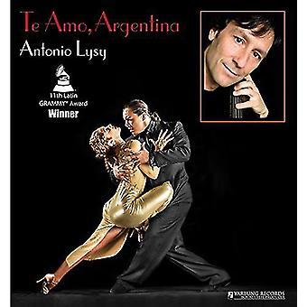 Piazzolla / Schifrin / Bragato / Ginastera - Te Amo Argentina [Vinyl] USA import