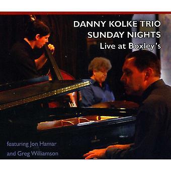 Danny Kolke Trio - Sunday Nights [CD] USA import