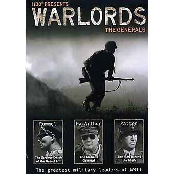 Seigneurs de la guerre: Importer les généraux [DVD] é.-u.