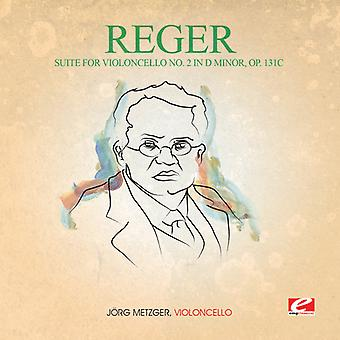 Reger - Suite for Violoncello 2 in D Min 131C [CD] USA import