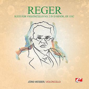 Reger - Suite para Violoncello 2 en D Min 131C [CD] USA importar
