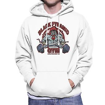 Black Pyramid Gym Mumm Ra Thundercats Men's Hooded Sweatshirt