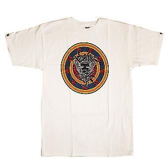 Crooks & Castles T-Shirt Medusa Exquisit White