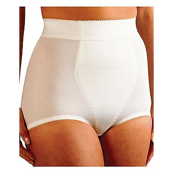 Silhouette Corsetry White Cuff-waist Pantie Girdle MX157