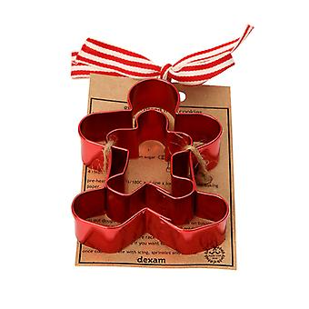 Dexam Made with Love Cookie Cutter Set, Gingerbread Man