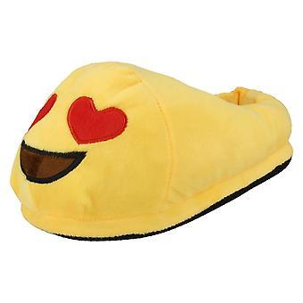 Ladies Spot On Slippers Emoji Slipper