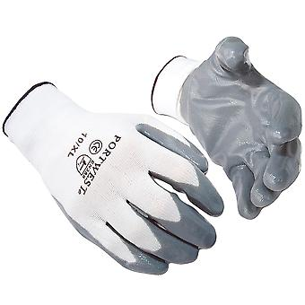 Luvas de nitrilo Portwest Flexo Grip (A310) / Safetywear / Workwear