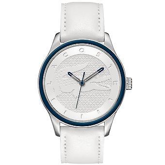 Lacoste women's watch polshorloge Victoria roestvrij staal lederen 2000836