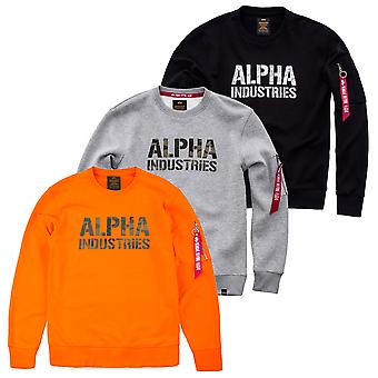 Alpha Industries férfi pulóver Camo Print