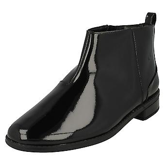 Girls Clarks Ankle Boots Drew Moon