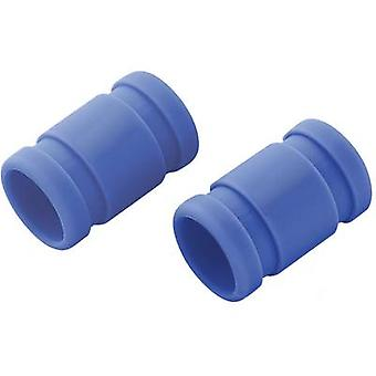 Silicone connector (Ø x L) 20 mm x 33 mm Blue Reely Compatible with: 2.49-2.95cc nitro engines 1 Pair
