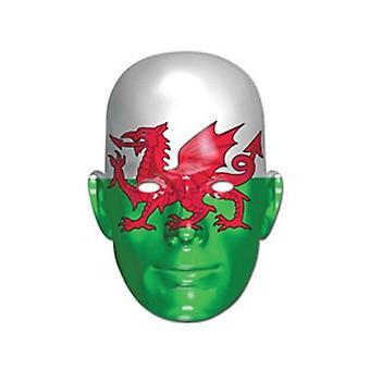 Union Jack máscara de bandera de Gales