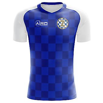 2020-2021 Dinamo Zagreb Home Concept Football Shirt
