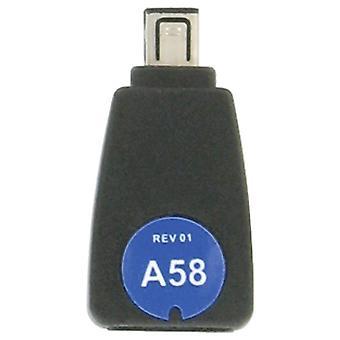 iGo A58 Power Tip voor Jabra Bluetooth Headsets (zwart) - TP00658-0009