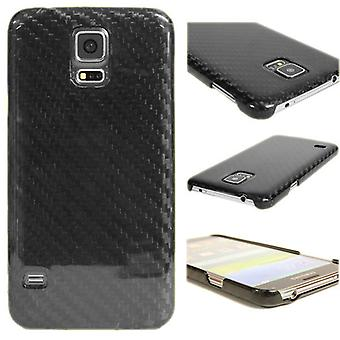 Genuine Carbon Fiber Carbon fibre shell ultra-light Galaxy S5/S5 NEO