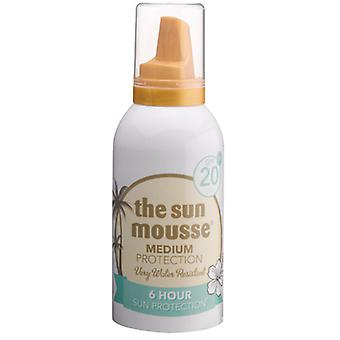 The Sun Mousse SPF20, up to 6 hours protection