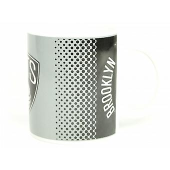 Brooklyn Nets NBA Official Fade Design Mug