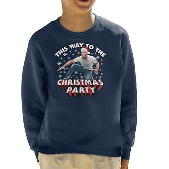 Vin Diesel This Way To The Christmas Party Kid's Sweatshirt