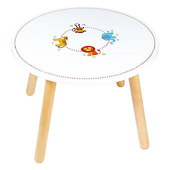 Tidlo Wooden Jungle Animal Table
