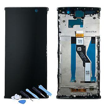Sony Display LCD Komplett Einheit für 78PC5100020 Xperia XA2 Plus H3413 H4413 H4493 Silber mit Rahmen Ersatzteil Neu