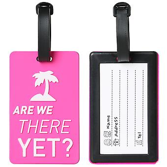 LUGGAGE TAG ARE WE THERE YET