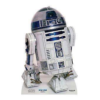 R2-D2-انقطاع الكرتون شمعي حرب النجوم/الواقف
