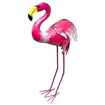 Metal Pink Flamingo Garden Patio Figurine Ornament Decoration 96cm