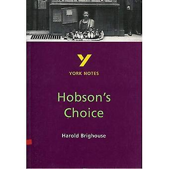 York anteckningar på Harold Brighouse Hobson's Choice (York anteckningar)