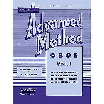 Rubank avancerade metod - Oboe Vol. 1