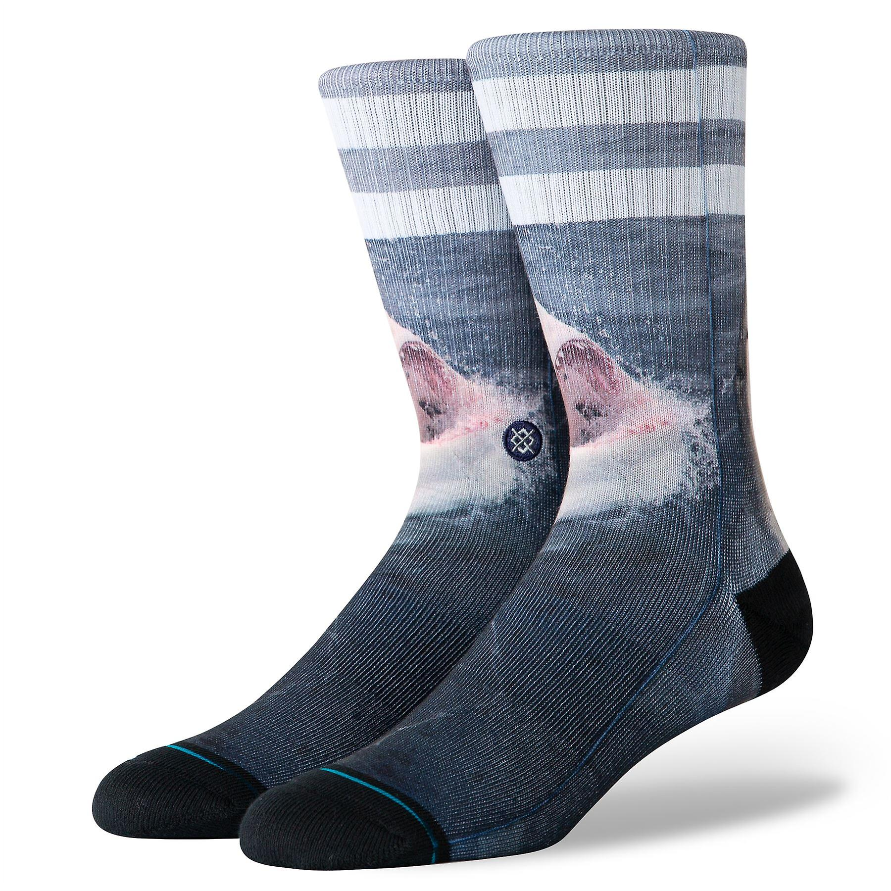 Stance Foundation Mens Socks ~ Brucey (size L)