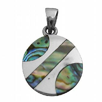 Rainbow Abalone Pendant Affordable Durable Sterling Pendant