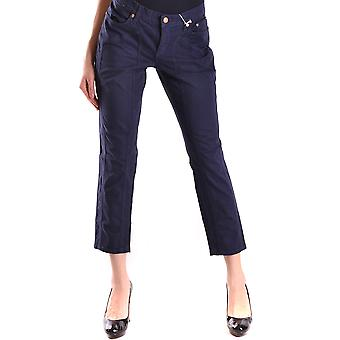 Jeckerson Ezbc069017 Women's Blue Cotton Jeans