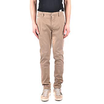 Dondup Ezbc051082 Men's Beige Cotton Pants
