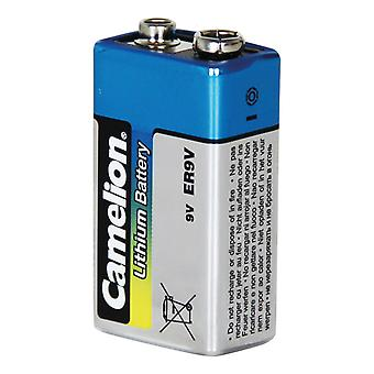 1-pack Camelion Battery 9V, 9 Volt Lithium