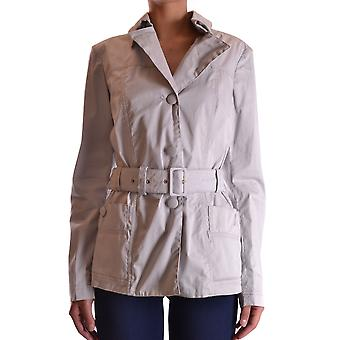 Geospirit Ezbc203019 Women's Grey Cotton Outerwear Jacket