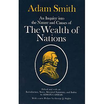 Wealth of Nations by Adam Smith - Edwin Cannan - 9780226763743 Book