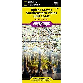 United States - Southeastern Plains And Gulf Coast Adventure Map by N