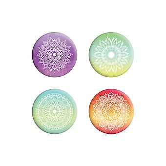 Grindstore Magical Mandalas Badge Pack