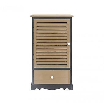 Meubilair Rebecca Tableof Locker 1 Anta 1 grijs zwart lade 73x42x32