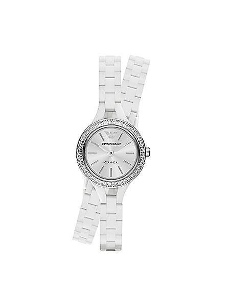 Emporio Armani Ar1482 Classic White Ladies Ceramic Bracelet Watch