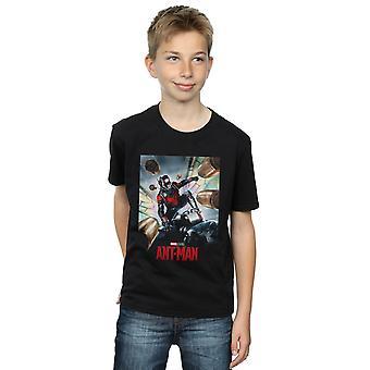 Marvel Studios Boys Ant-Man Poster T-Shirt