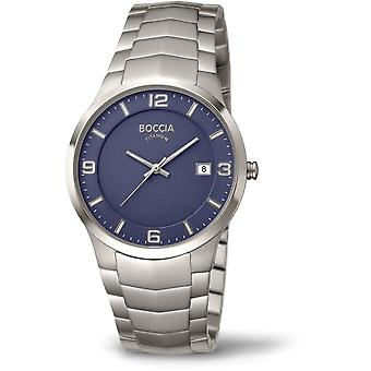 Boccia Titanium 3561-04 Miesten Watch