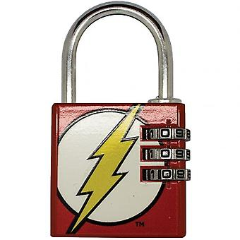 DC Comics Padlock Brass Le Flash