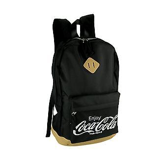 Coca-Cola logo zwart canvas rugzak