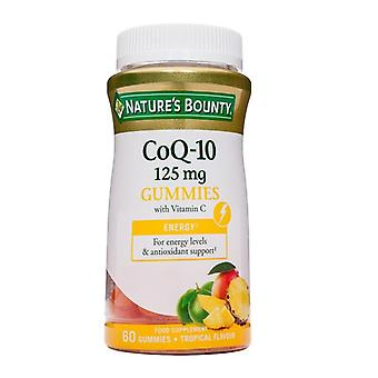 Nature's Bounty CoQ-10 125 mg Gummies with Vitamin C 60 (N77616)