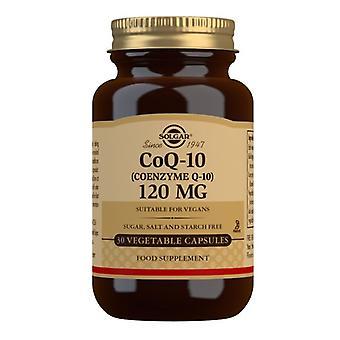 Solgar CoQ-10 120mg Vegicaps 30 (924)